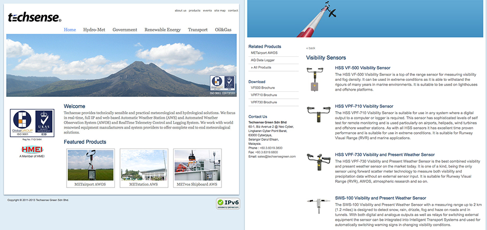 portfolio-techsense-website-design