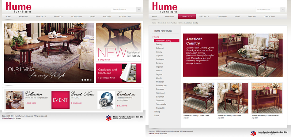 portfolio-hume-furniture-website-design