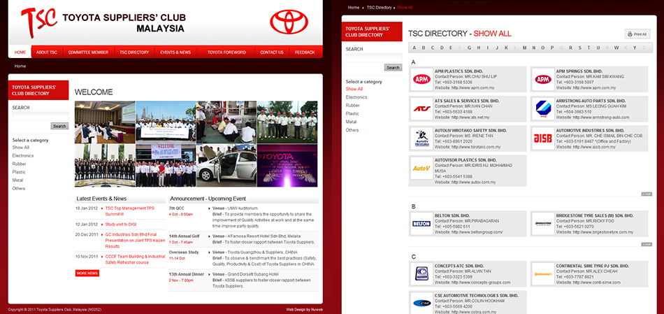 portfolio-tsclub-website-design