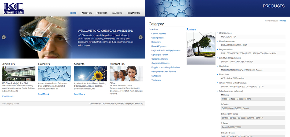 portfolio-kcchemicals-website-design