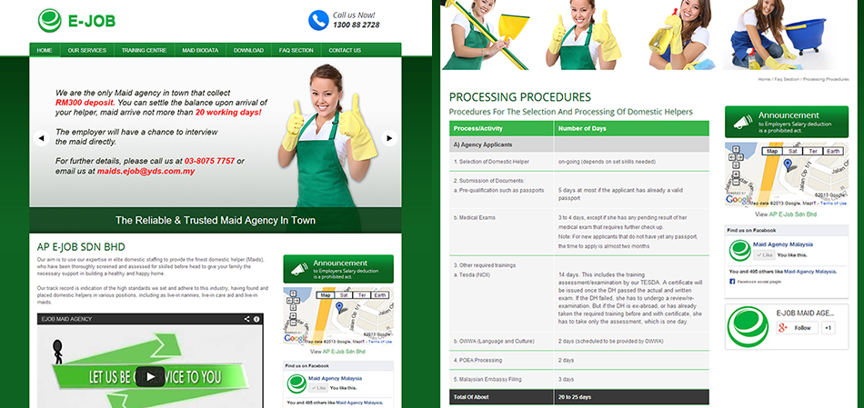 portfolio-maid-agency-website-design