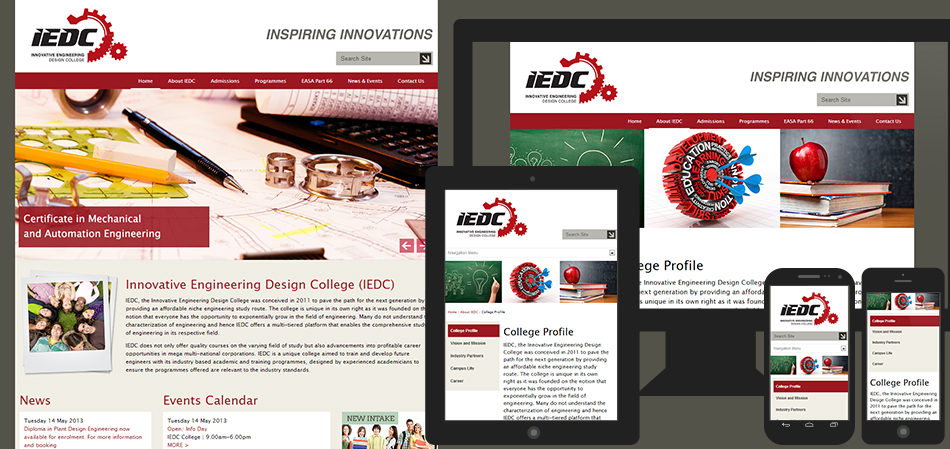 portfolio-iedc-website-design