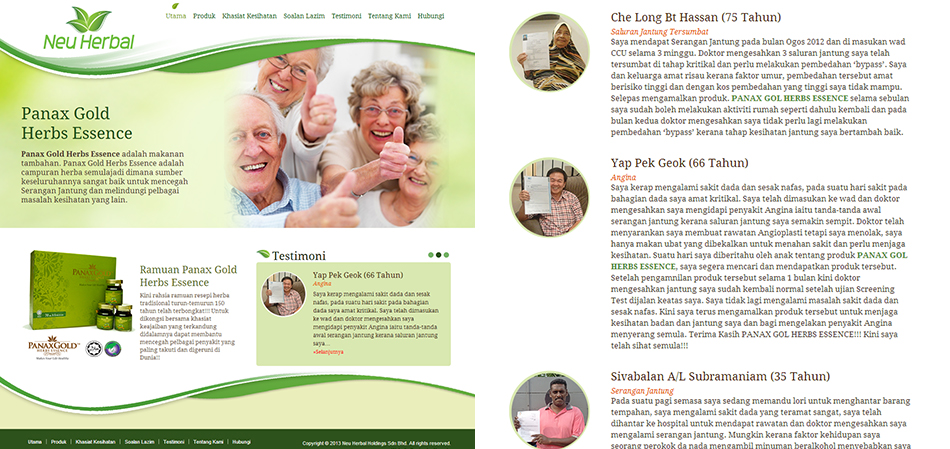 portfolio-neu-herbal-website-design