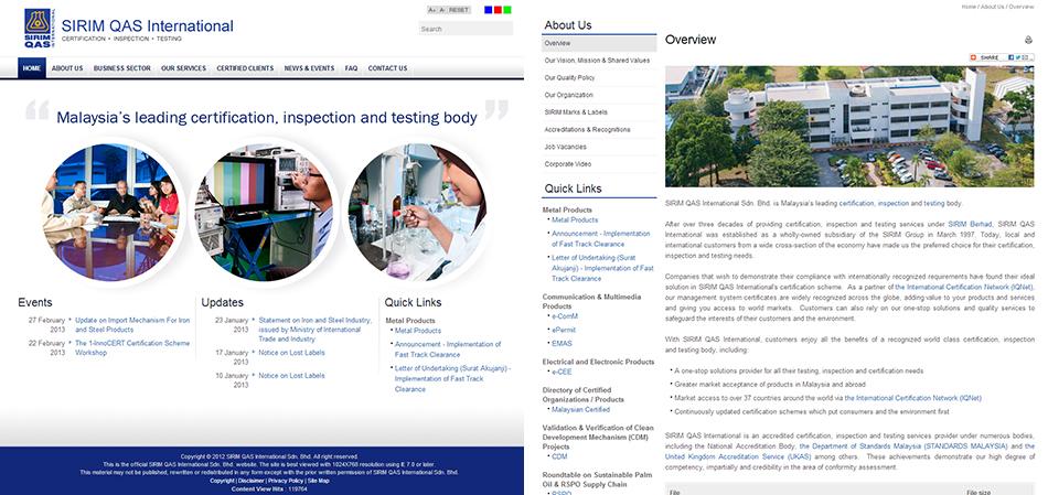 portfolio-sirim-website-design